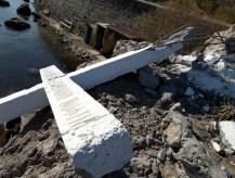 Γκρέμισαν τον τσιμεντένιο σταυρό στη Μυτιλήνη | tanea.gr