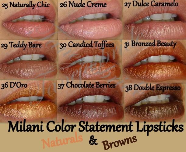 MilaniNaturals&BrownsLips