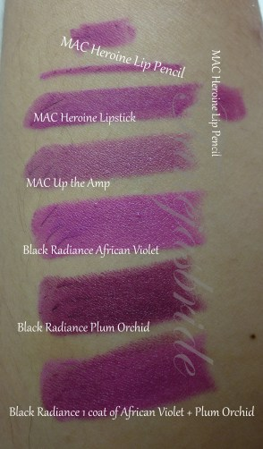 PurpleLipstickComparison