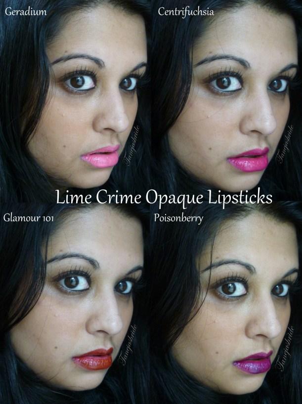 LimeCrimeOpaqueLipsticks