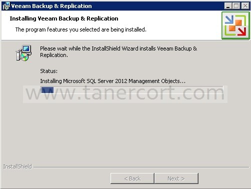 Installing Veeam Backup & Replication