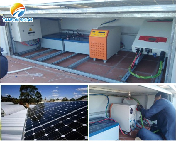 Tanfon 2kw off grid solar system and 5kw on grid solar ...