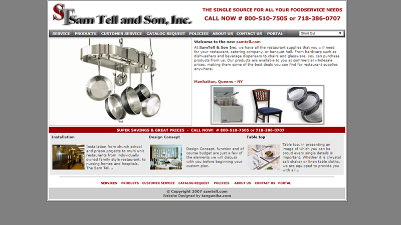 Sam Tell and Son, Inc.