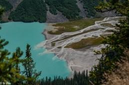 Glacier Water feeding Lake Louise