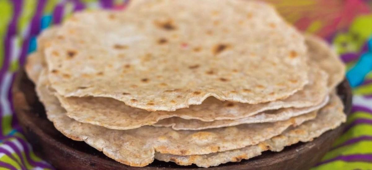 HOME-MADE CHAPATI BREAD