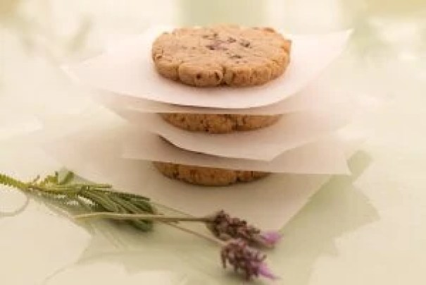 Lavender Cookies Ready To be Eaten