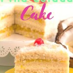 Piña Colada Cake - step-by-step recipe -pin2