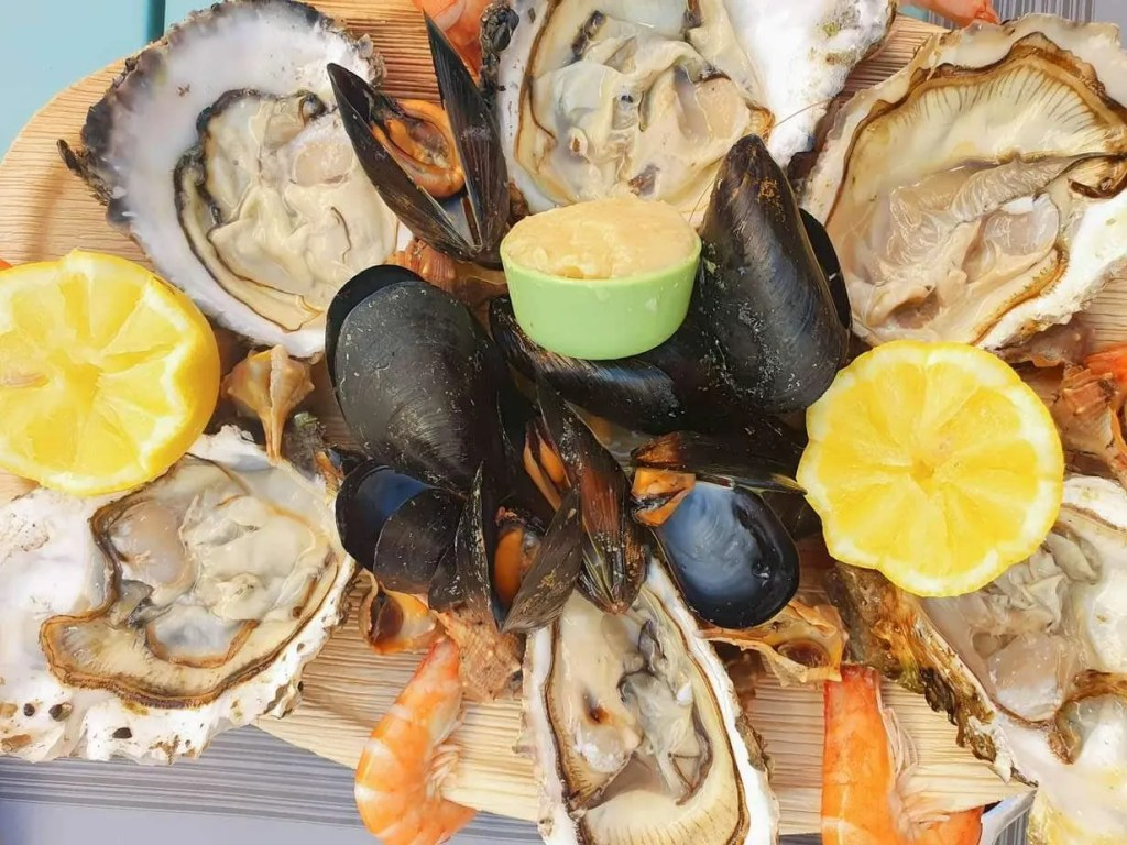 Best Restaurans in Sitges, Spain + What to Eat- Revol - seafood plate