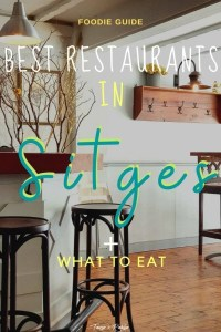 Best Restaurans in Sitges, Spain + What to Eat-pin3