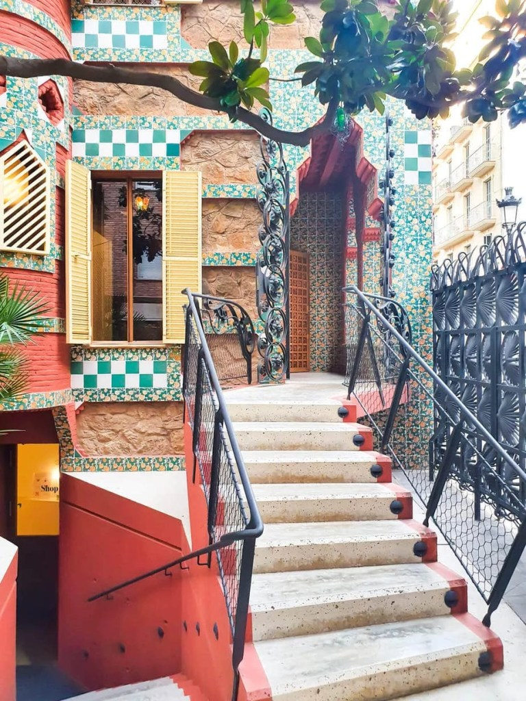 Casa Vicens, Barcelona – Gaudi's First Masterpiece - Review - Entrance to the house