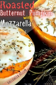 Roasted Butternut Pumpkin With Mozzarella - recipe ingredients - PIN3