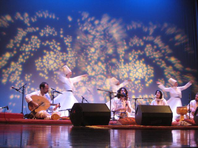 Shams Ensemble performing in San Francisco