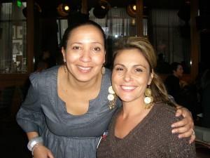 Teresa and Monetta, the owner of 1300 enjoying brunch