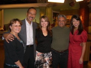 My mom, Spencer Christian, me, my dad, and Janel Wang