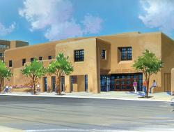 An artist's conception of the New Mexico History Museum