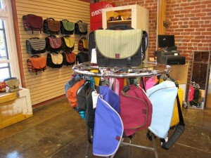 Rickshaw factory store rack
