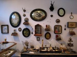 Modern Relics wall o frames