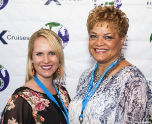 Rebecca Moore and LaTonya Lawson (Celebrity Cruises)