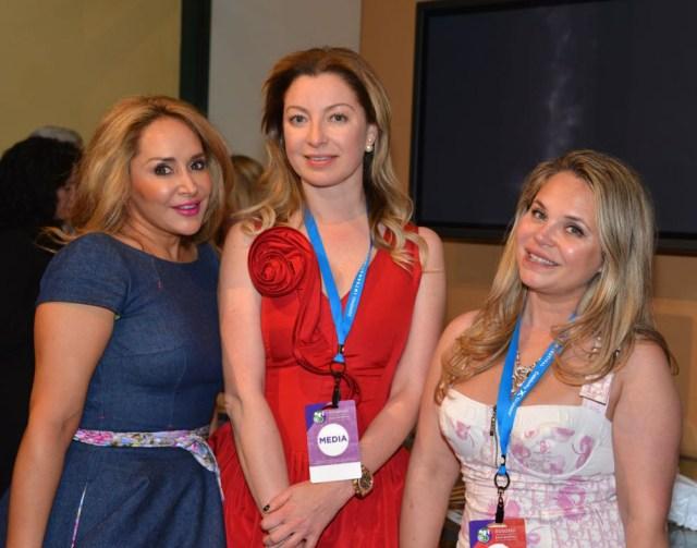 Brenda Zarate, Director of Christian Dior SF, Sonya Molodetskaya, and Rada Katz