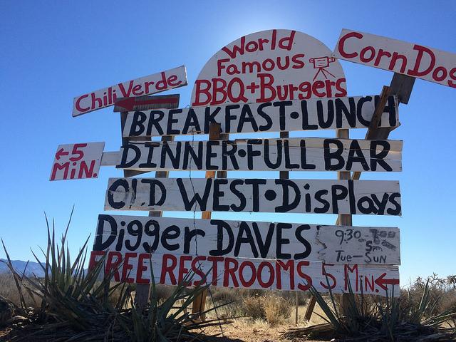 "sign confusing travel location food ""lynn friedman"" ""tango diva"" ""road trip"""