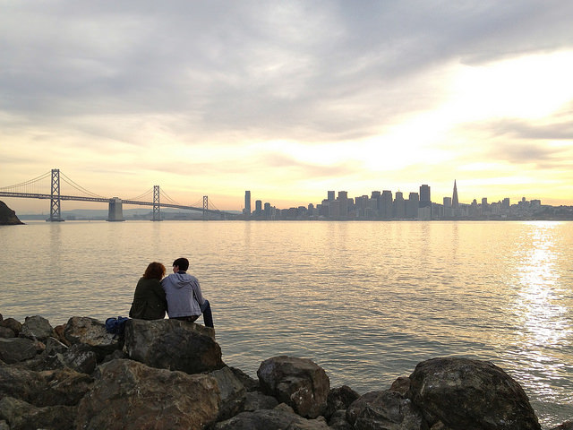 "romance ""treasure island"" couple skyline view ""san francisco"" ""lynn friedman""  tangodiva"