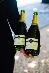 Spurrier's Bride Valley English Sparkling Blanc de Blancs 2013 Photo credit: Alexander Rubin