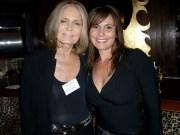 Gloria Steinam and Teresa Rodriguez Williamson