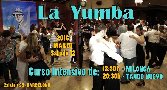 - clases de tango milonga en Barcelona by Graciela y Osvaldo LA YUMBA