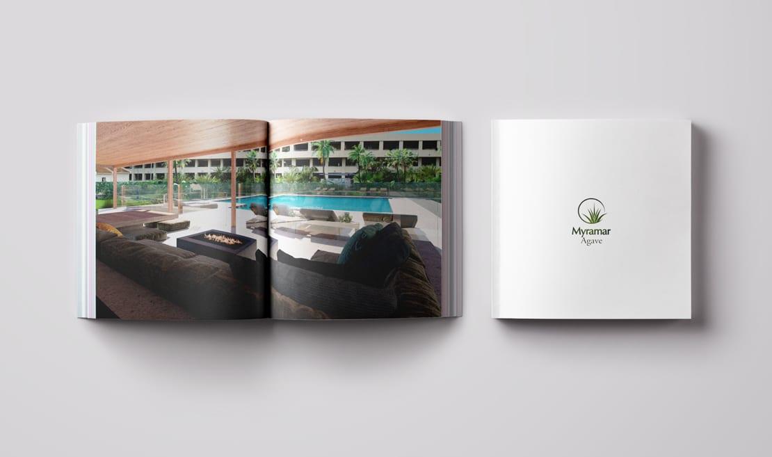 diseño de catalogo para promocion inmobiliaria