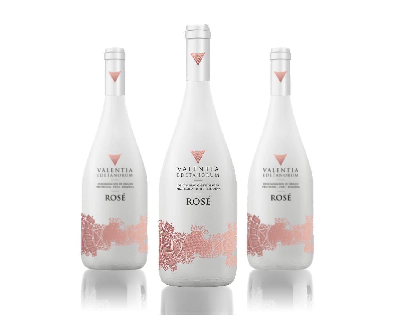 valentia, envases para vinos en botella de cristal