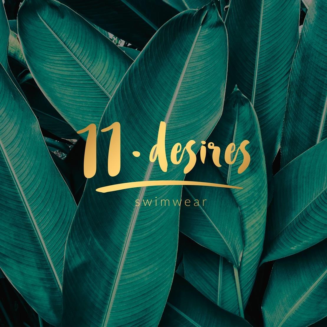 11desires, branding, y diseño de logotipo