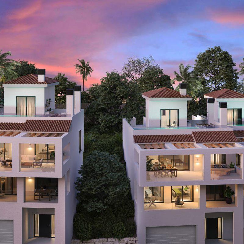 Siesta Homes, oakhill, Marbella, Infografía 3D