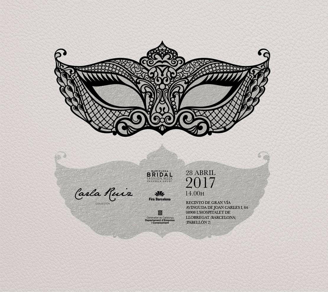 Carla Ruiz, colección, diseño de creatividad para invitacion