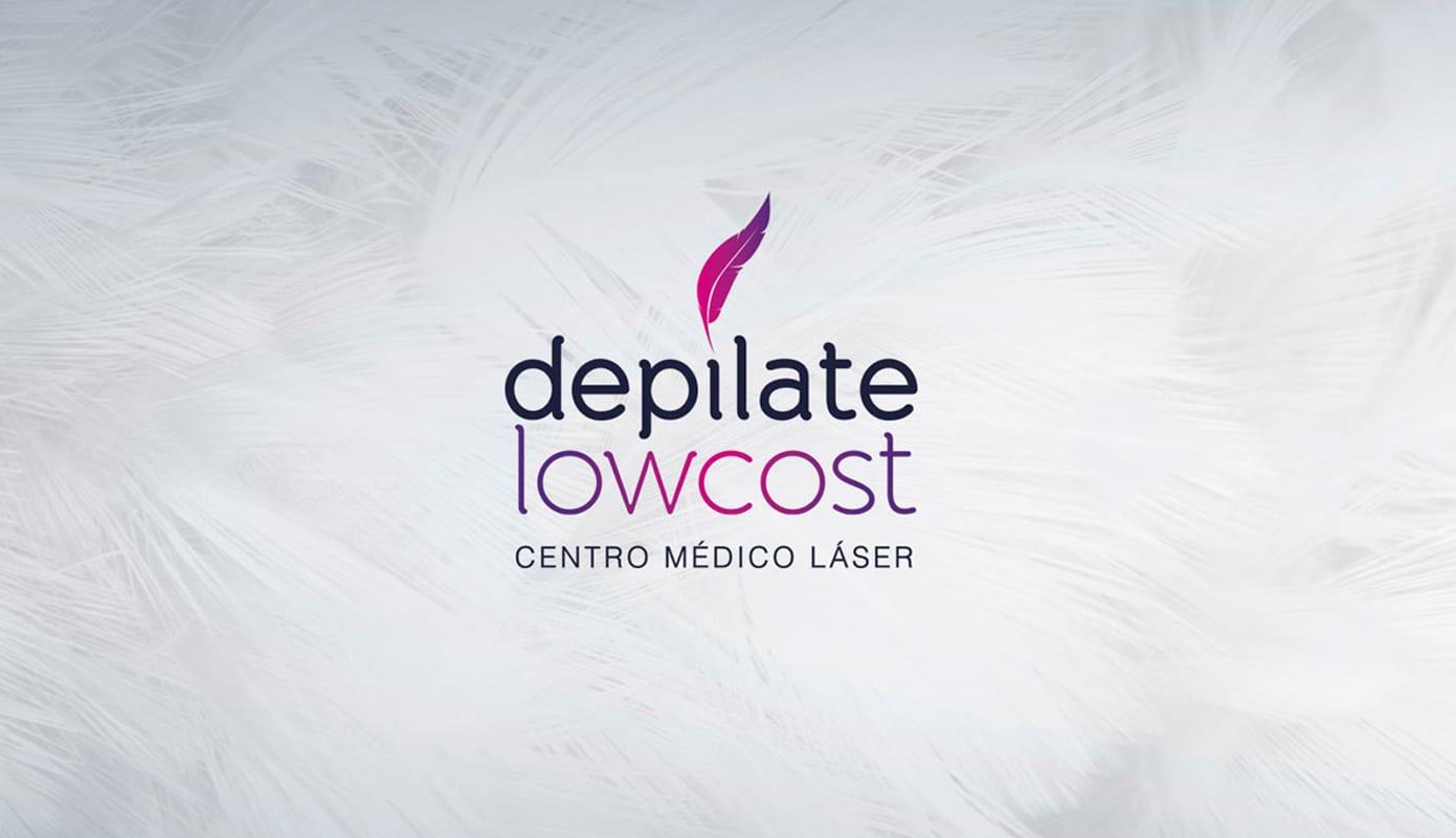 diseño de logotipo para empresa de depilación
