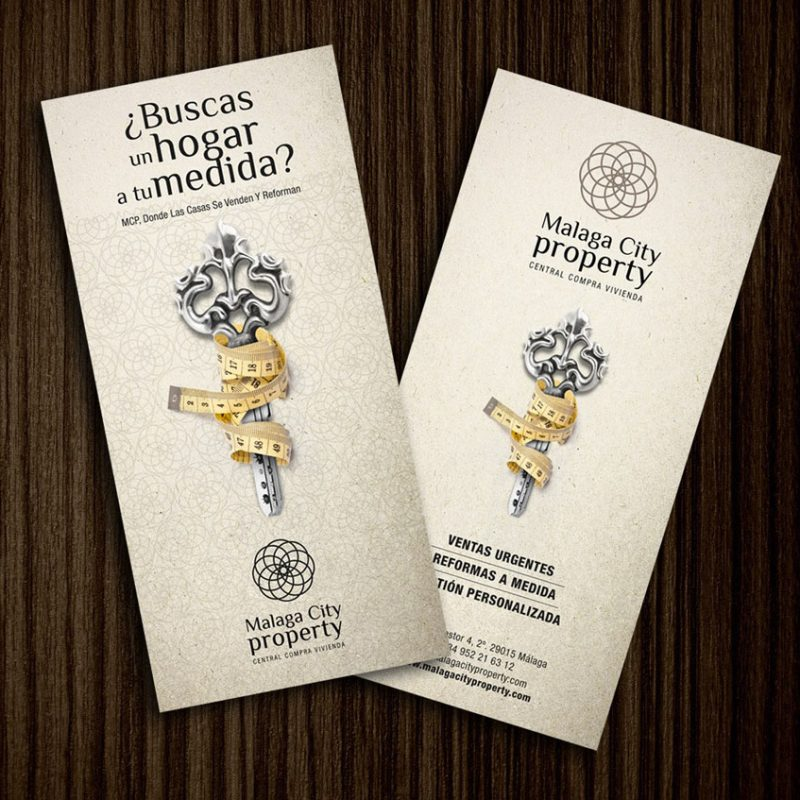Málaga City Property, anuncios creativos