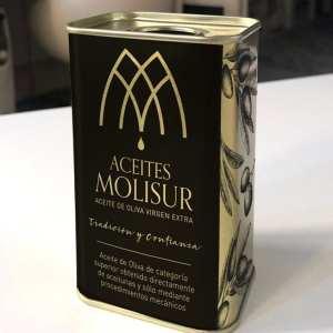 packaging diseño para empresa de aceites