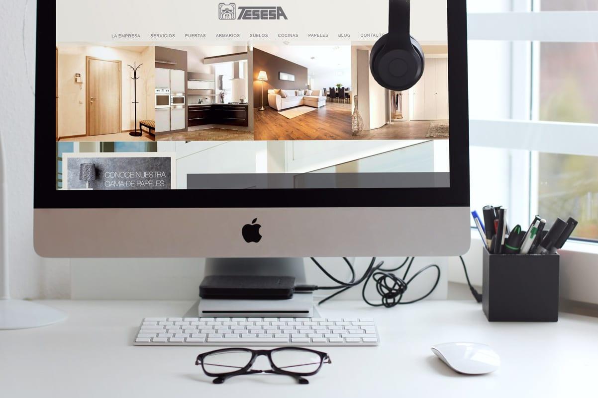 diseño de pagina web para empresa de suelos