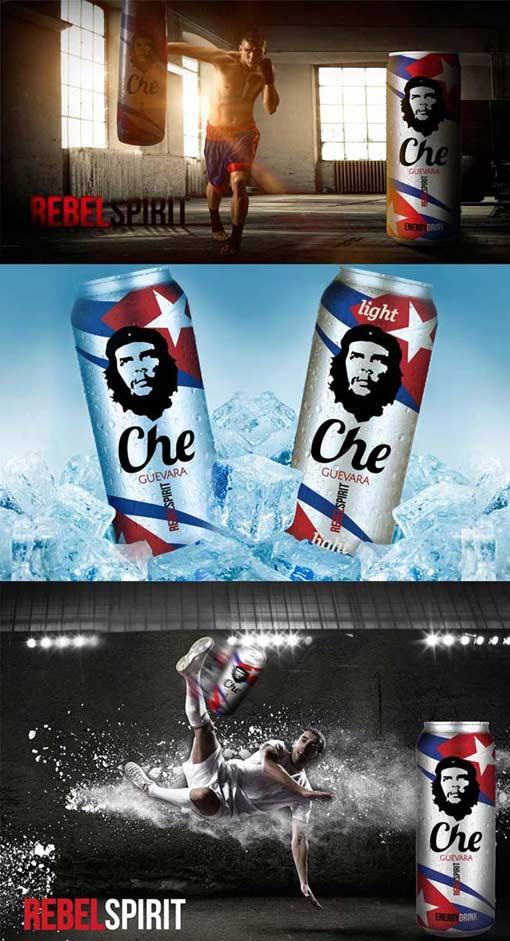 anuncios creativos para che guevara
