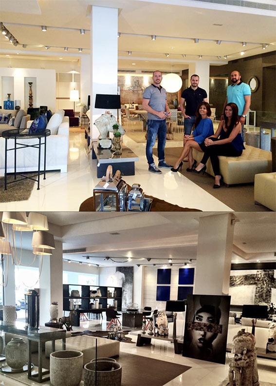 Diseño de logotipo corporativo para firma de muebles de diseño de lujo en Marbella