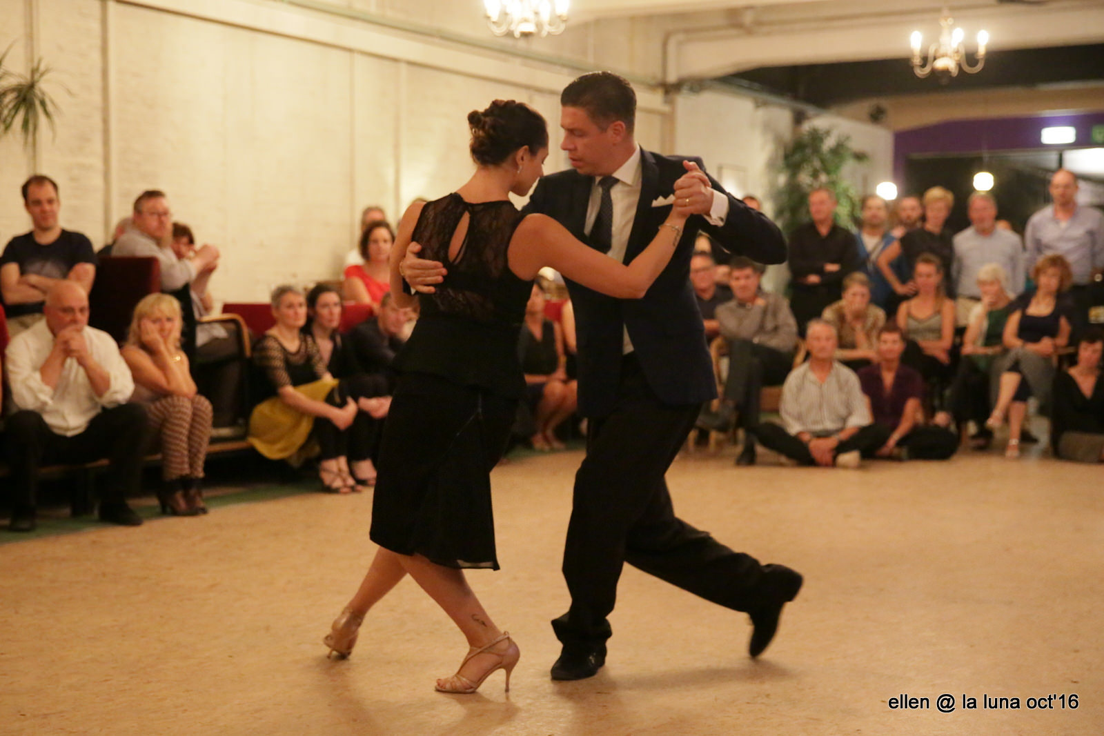 Claudio Forte & Barbara Carpino bij tangolaluna.be