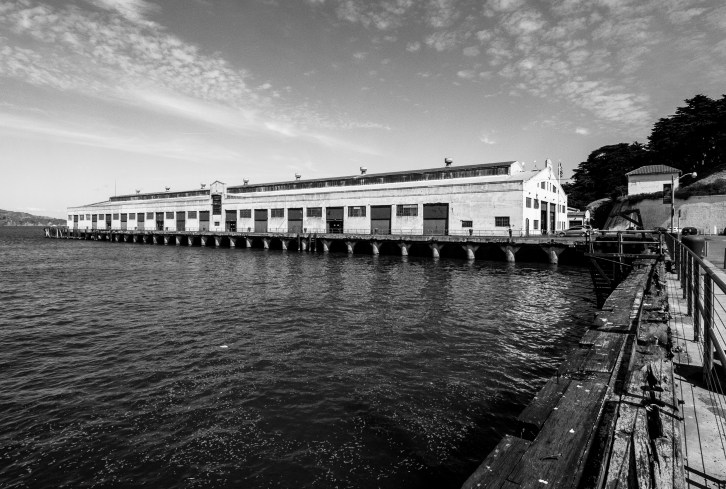Saying goodbye to Fort Mason for another year.
