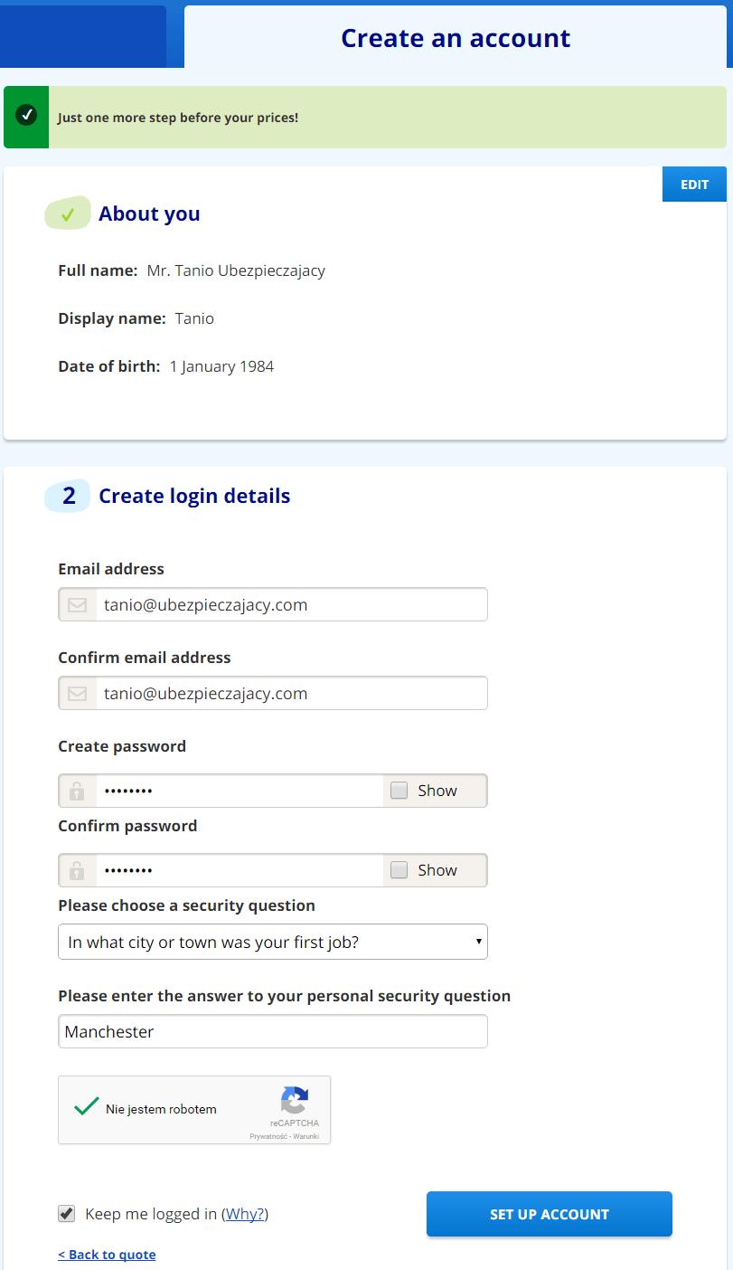 Rejestracja w serwisie confused com - jak kupic tanie ubezpieczenie