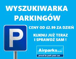 tani parking przy lotnisku w uk - wyszukiwarka parkingów