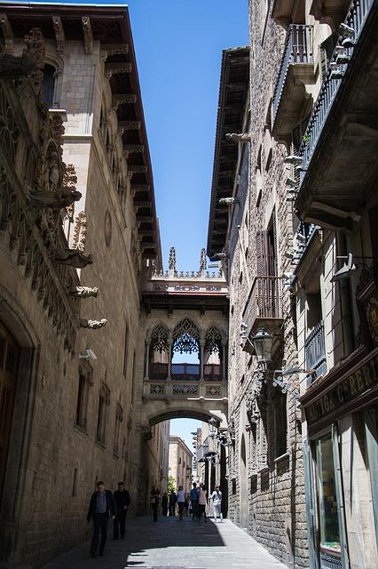 Dzielnica Gotycka w Barcelonie - Barri Gotic