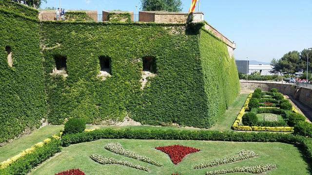 Fort na szczycie Montjuic