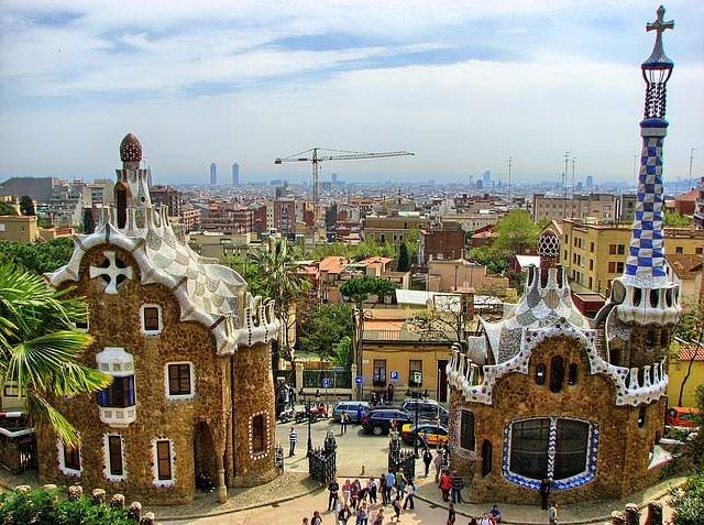 Park Guell w Barcelonie - Antoni Gaudi