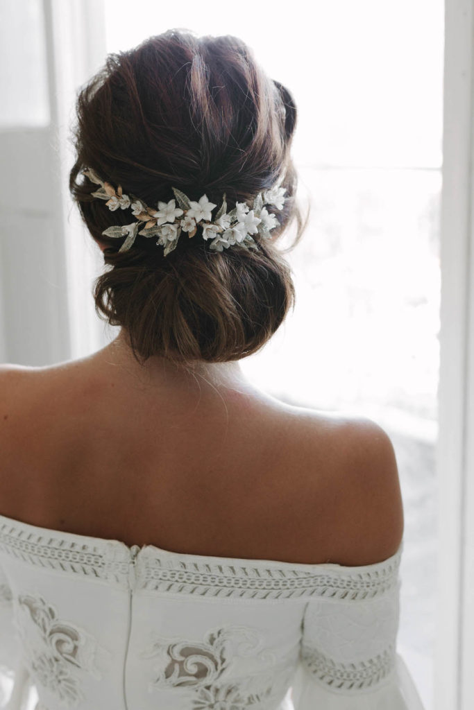 Chic Chignon How To Style The Modern Chignon Wedding