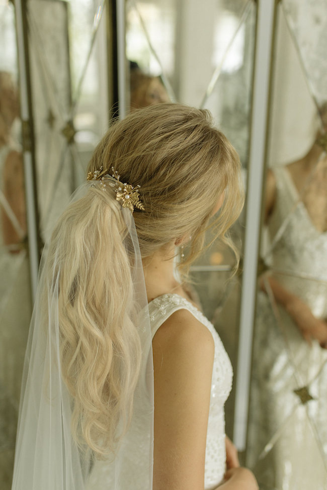 Playful Ponytails Styling The Classic Wedding Ponytail