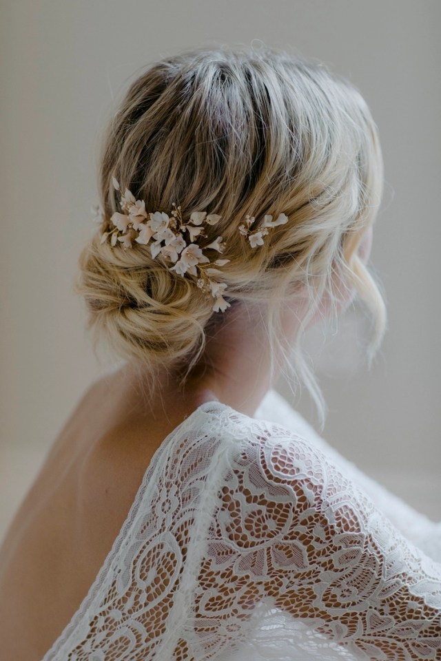 cherry blossom | wedding hair pieces