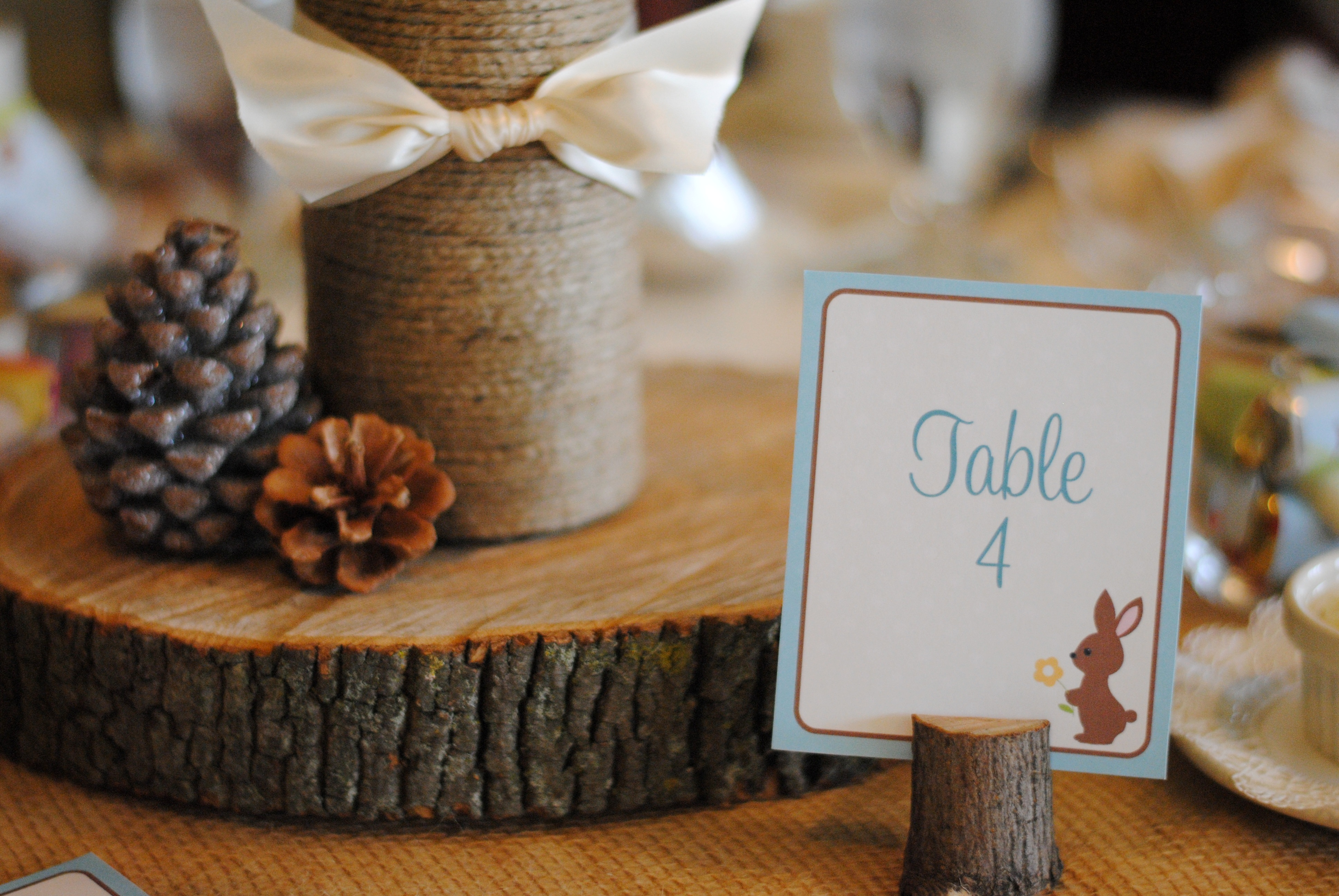 Woodland Baby Shower Party